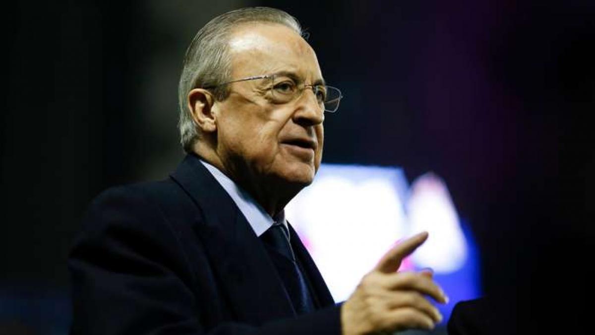 Ông Florentino Perez tái đắc cử Chủ tịch Real Madrid (Ảnh: Getty).