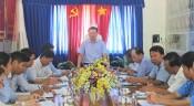 Phó Bí thư Thường trực Tỉnh ủy  Long An làm việc với Đảng ủy Sở Giao thông Vận tải