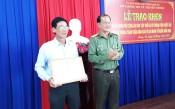 Sở Thông tin và Truyền thông nhận bằng khen của Bộ trưởng Bộ Công an