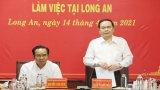 Phó Chủ tịch Thường trực Quốc hội kiểm tra bầu cử tại Long An