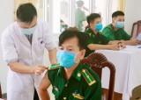 Bộ đội Biên phòng tỉnh Long An: Hoàn thành tiêm vắc-xin Covid-19 mũi 1 đợt 1 cho cán bộ, chiến sĩ