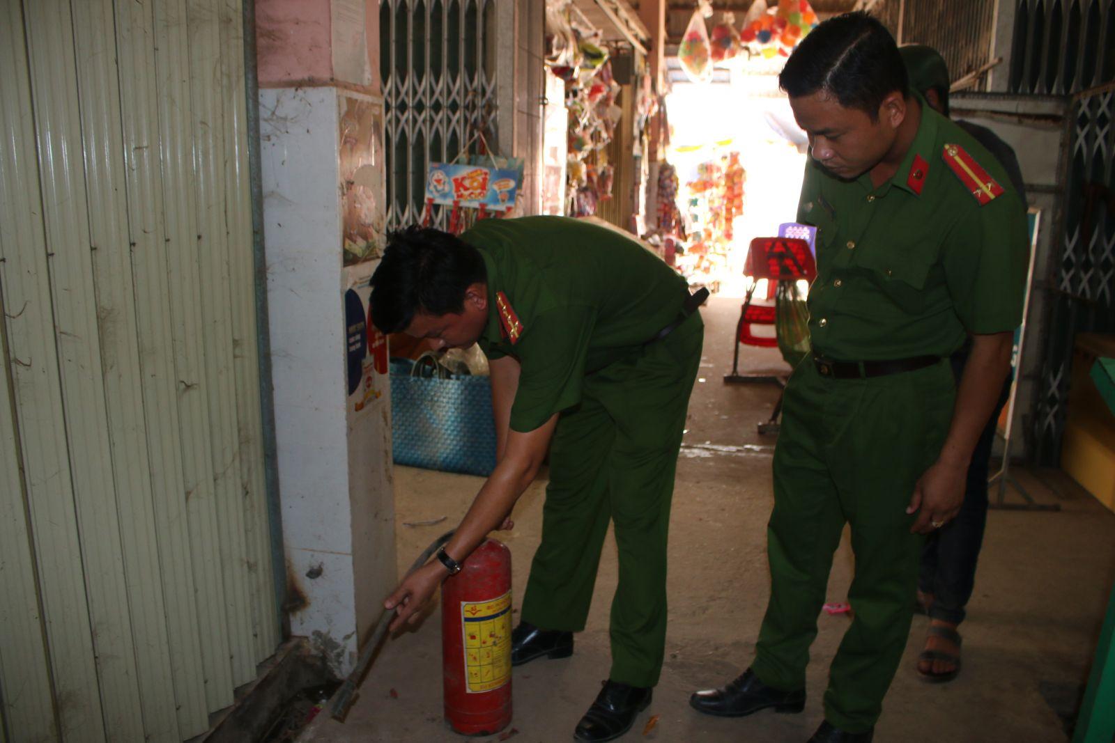 Thường xuyên kiểm tra công tác phòng cháy, chữa cháy
