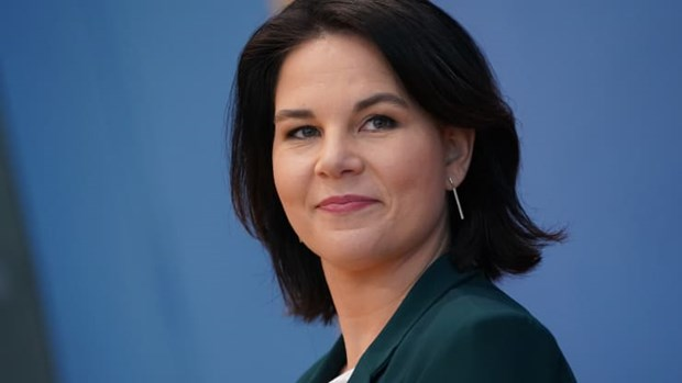 Bà Annalena Baerbock. (Nguồn: Getty Images)