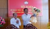 Ông Đỗ Thanh Hùng giữ chức vụ Phó Chủ tịch UBMTTQ Việt Nam tỉnh Long An, khóa IX