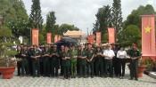 Đoàn Cựu chiến binh các tỉnh phía Bắc thăm lại chiến trường xưa tại huyện Cần Giuộc