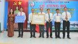 Tân Hòa đón nhận danh hiệu xã đạt chuẩn nông thôn mới