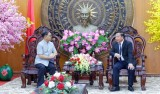 Thai Consulate General in HCMC pays courtesy greetings to leaders of Long An province