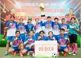12 đội bóng tham dự giải bóng đá nữ các câu lạc bộ Đồng bằng sông Cửu Long