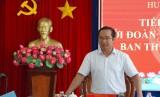 Bí thư Tỉnh ủy Long An làm việc với huyện Mộc Hóa
