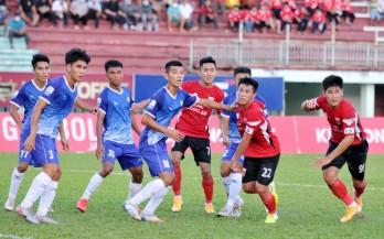 Long An chia điểm với Khánh Hòa trong trận cầu không bàn thắng