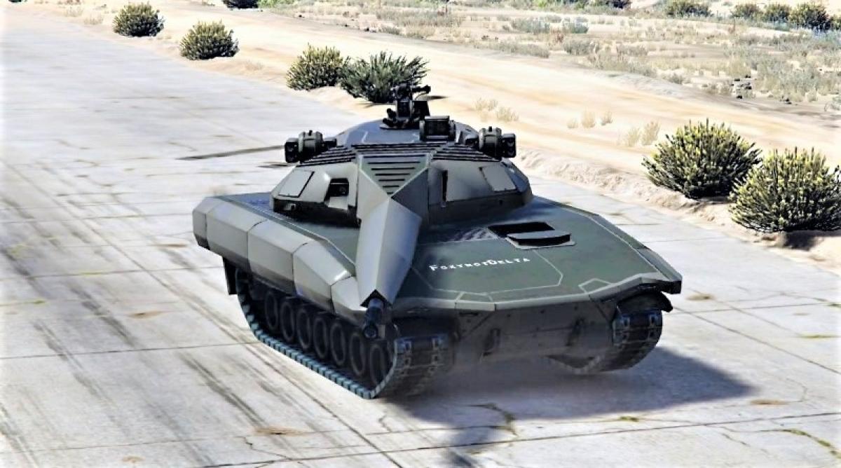 Xe tăng dùng điện được cho sẽ là xu thế của tương lai; Nguồn: naukatehnika.com