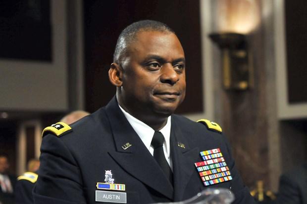 Bộ trưởng Quốc phòng Mỹ Lloyd Austin. (Nguồn: AFP)