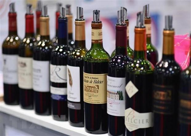 Rượu vang. (Ảnh: AFP/TTXVN)