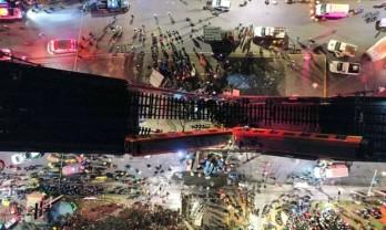 Vụ sập cầu tại thủ đô Mexico: Con số thương vong tăng nhanh
