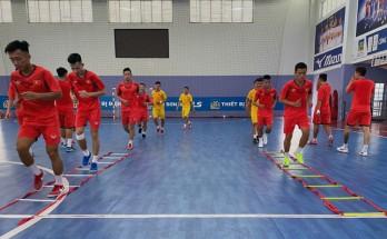 ĐT Việt Nam đọ sức với ĐT Thái Lan trước khi tranh vé dự VCK Futsal World Cup 2021