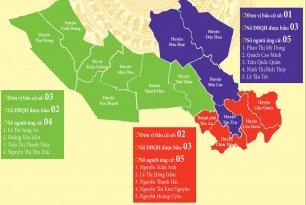 Danh sách chính thức những người ứng cử Đại biểu Quốc hội khóa XV theo từng đơn vị bầu cử tỉnh Long An