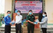 Thăm, tặng quà lực lượng phòng, chống dịch Covid-19 trên tuyến biên giới huyện Tân Hưng