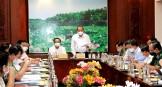 Phó Thủ tướng Trương Hòa Bình kiểm tra công tác phòng, chống dịch Covid-19 tại Long An