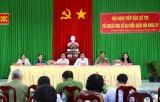 Ứng cử viên đại biểu Quốc hội khóa XV tiếp xúc cử tri tại huyện Bến Lức