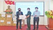 Ban Quản lý Khu Kinh tế tỉnh Long An tiếp nhận 887 triệu đồng ủng hộ phòng, chống Covid-19