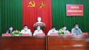 Ứng cử viên đại biểu Quốc hội tiếp xúc cử tri TP.Tân An
