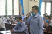 Ứng cử viên đại biểu Quốc hội khóa XV tiếp xúc cử tri huyện Thủ Thừa