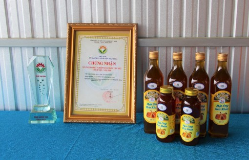 Quang Vinh Honey: 3-star OCOP product of Thanh Hoa district