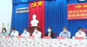 Ứng cử viên đại biểu HĐND tỉnh tiếp xúc cử tri tại Đức Hòa