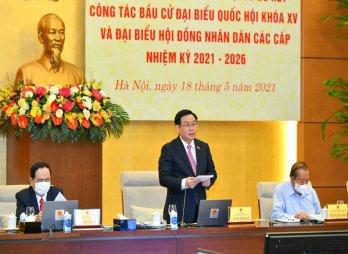 Hội đồng bầu cử quốc gia sơ kết công tác bầu cử