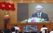 Tổng Bí thư - Nguyễn Phú Trọng chủ trì hội nghị sơ kết 5 năm thực hiện Chỉ thị số 05-CT/TW