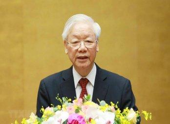 Toàn văn phát biểu của Tổng Bí thư Nguyễn Phú Trọng tại Hội nghị toàn quốc sơ kết 5 năm thực hiện Chỉ thị số 05 của Bộ Chính trị