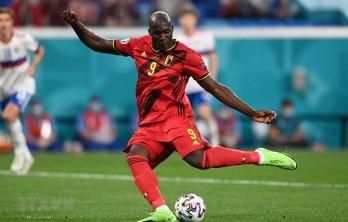EURO 2021: Tiền đạo Romelu Lukaku lập cú đúp giúp Bỉ hạ gục Nga